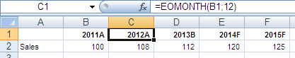 Excel: Year Suffix (2)