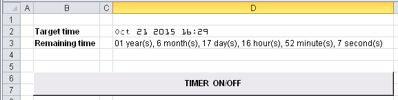 Excel_Countdown_Timer